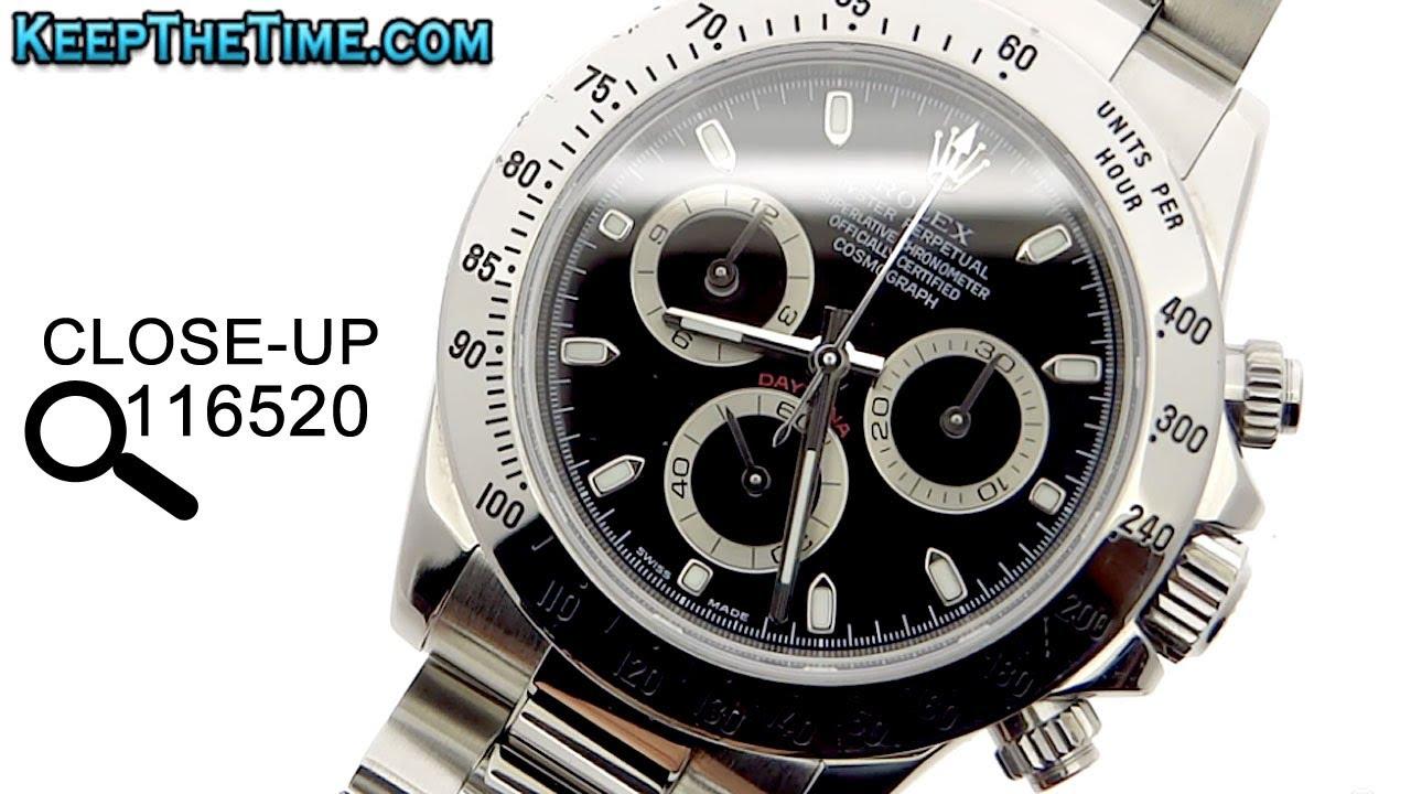 a20b80bbd47 Rolex Steel Daytona Grail Watch 116520
