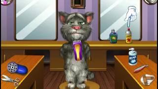 Детская Игра Мультфильм - Подстригите Кота Тома