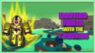 Roblox DBZFS frieza vs z fighters[ READ DES]