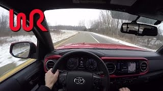 2016 Toyota Tacoma TRD Offroad Double Cab - WR TV POV Review