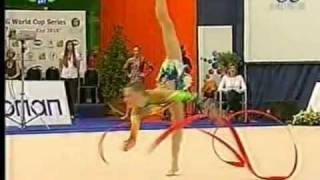 Melitina Staniouta ribbon 2010 world cup Kalamata (Broken Stick)