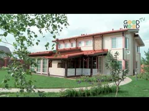 Деревянный дом по индивидуальному проекту. Экскурсия по дому с отделкой.