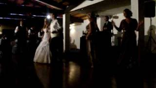 Let It Whip Bridal Party, Bride & Groom Dance Rachel & Phil's Wedding