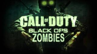 COD Black Ops Zombies Five Game Over music HQ
