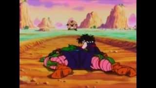 Piccolo muere salvando a Gohan