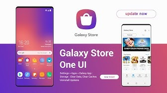 Samsung Galaxy Store App One UI | all new