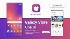 Samsung Galaxy Store App One UI | all new