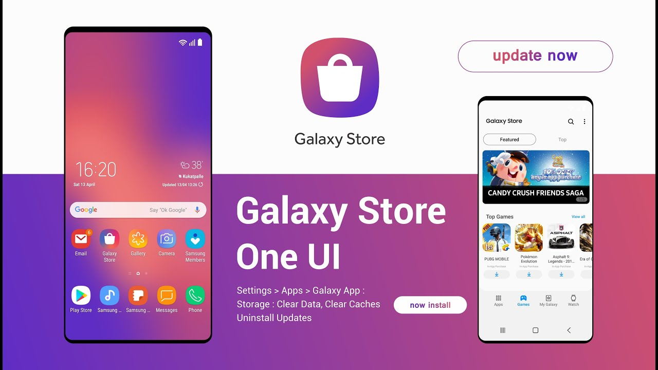 Samsung Galaxy Store App One UI | all new - YouTube