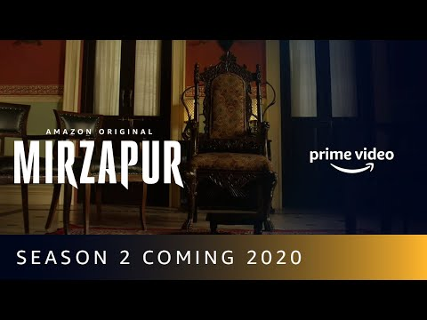 MIRZAPUR Season 2 Coming 2020 | Birthday Anniversary | Amazon Prime Video