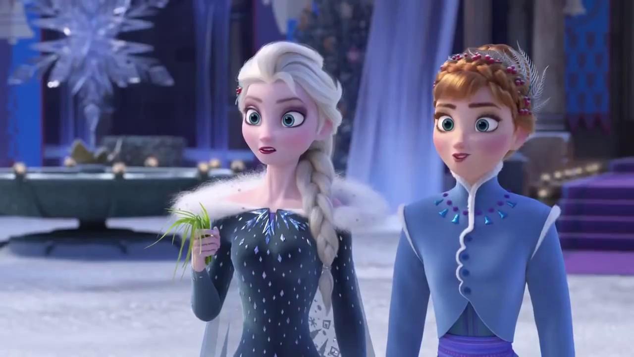 Frozen Una Aventura Congelada De Olaf Navidad Disney Frozen Youtube