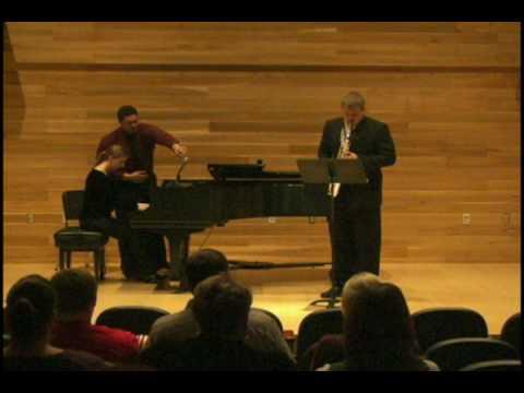 Aeolian Song from Concertino for Alto Saxophone  Warren Benson