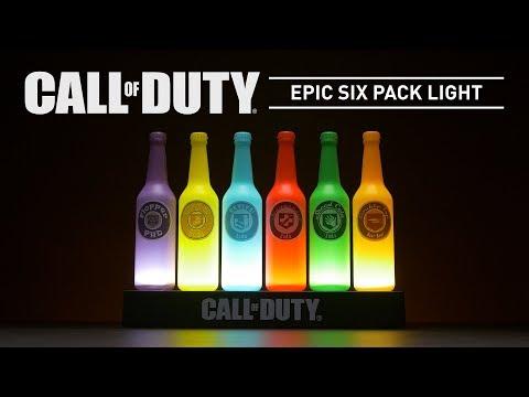 Call Of Duty Epic Six Pack Light | Paladone