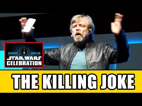 Mark Hamill's THE KILLING JOKE Joker Monologue At Star Wars Celebration