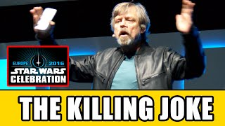 Mark Hamill's THE KILLING JOKE Joker Monologue At Star Wars Celebration