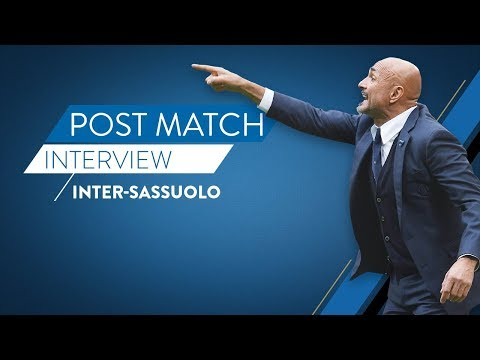 INTER-SASSUOLO | Luciano Spalletti interview | Post-match reaction