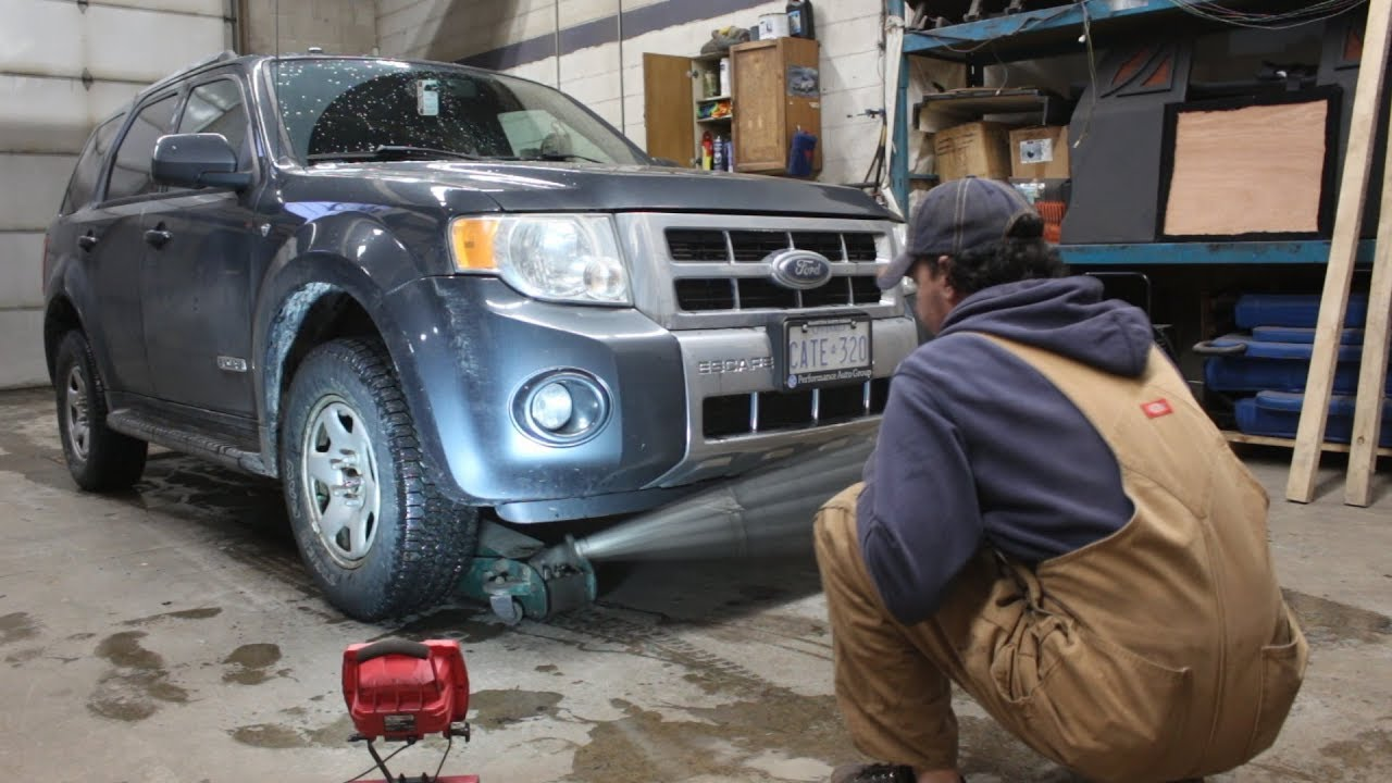 2008 Ford Escape How To Change The Lower Control Arm