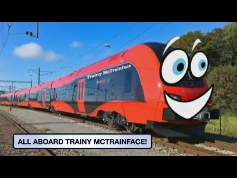 Swedes vote to name train 'Trainy McTrainface'