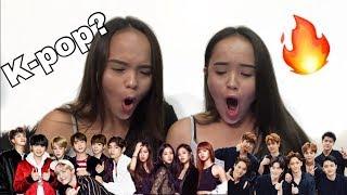 NON K-POP FAN REACTS TO K-POP (BTS, BLACKPINK, EXO)