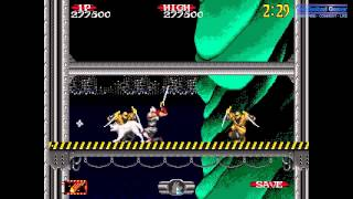 Shadow Dancer:  The Secret of Shinobi Complete Sega Genesis Longplay Walkthrough