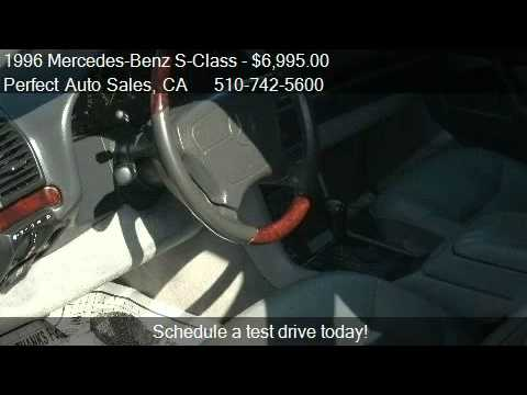 1996 Mercedes-Benz S-Class S500 sedan - for sale in FREMONT,