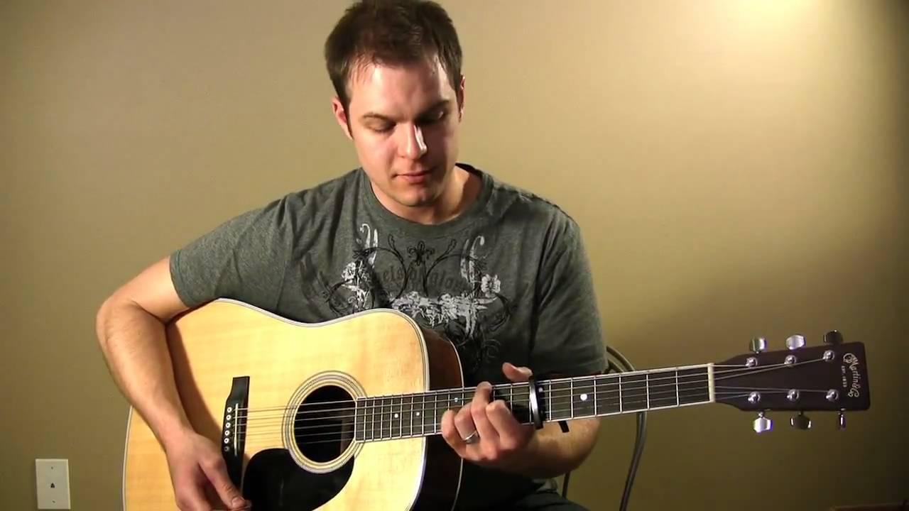 My Savior My God Tutorial (Aaron Shust) - Tutorial with Chord Chart