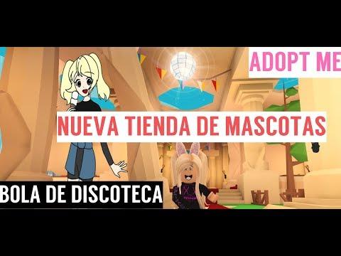 NUEVA TIENDA DE MASCOTAS Y UNA BOLA DE DISCOTECA!! ADOPT ME