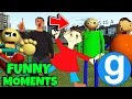 Brand New Baldi's Basics in Education and Learning Funny Moments #2 in Gmod Garry's Mod Sandbox