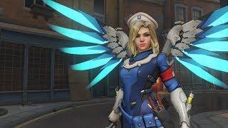 Overwatch - Dica para quem quer jogar de Mercy!