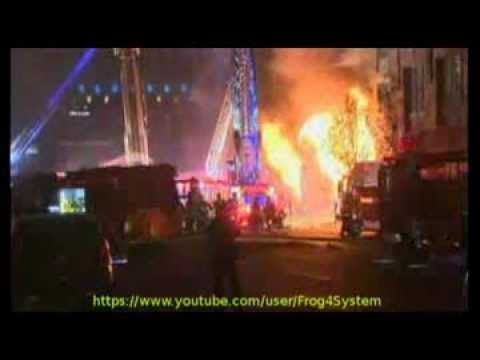 Boston 8 Alarm Fire 12/3/13 With Fire Radio Audio