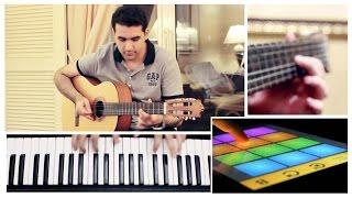 Hamaki - Agmal Youm /  حماقي - أجمل يوم guitar - piano cover