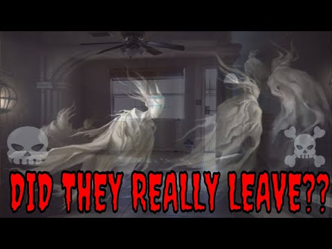 DID THEY REALLY LEAVE??  **WENT BACK TO MY OLD HOUSE**!!
