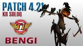 SKT T1 Bengi - Fiddlesticks Jungle - KR SoloQ