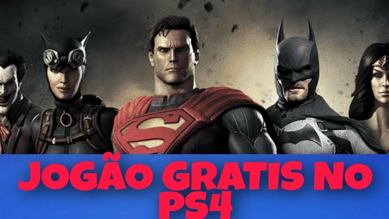 JOGÃO GRATIS NO PS4 !!!