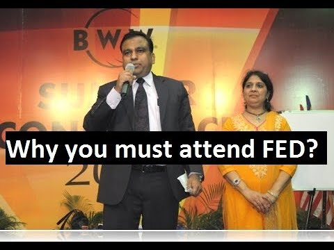 Why you must attend FED ?: Ashish and Prabha  Garg
