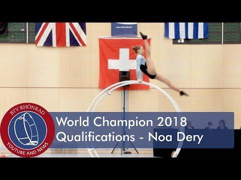 World Championships in Gymwheel 2018 Noa Dery - YouTube