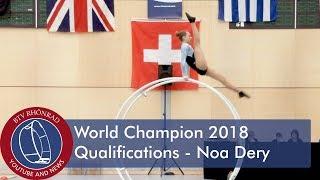 Скачать World Championships In Gymwheel 2018 Noa Dery
