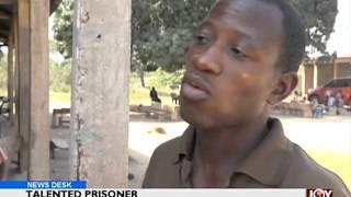 Talented prisoner out of prison