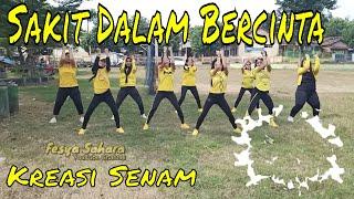 Download Sakit Dalam Bercinta l Senam kreasi zumba terbaru santuy l Fesya Sahara