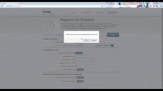 painel de configuraço -  D-link DIR-822