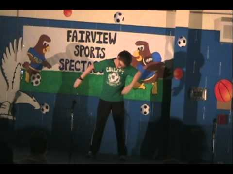 Evolution of Dance - Kevin - Fairview Elementary School Talent Show
