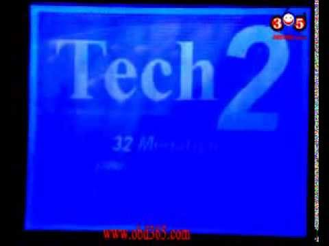 How to use GM Tech2 GM Diagnostic Scanner