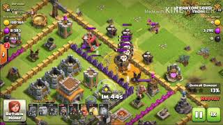 Hog Rider Strategy For TH8 - Clash Of Clans - Completing Hog Homecoming Event