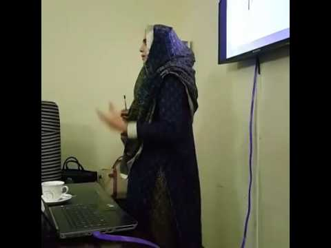 Ms  Ummara khalid conducting a trainin session at Head Office CopperGat Cables