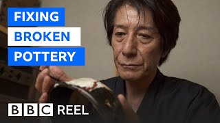 The Japanese art of fixing broken pottery - BBC REEL