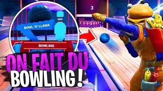La Team Croûton s'affronte au Bowling sur Fortnite Créatif !