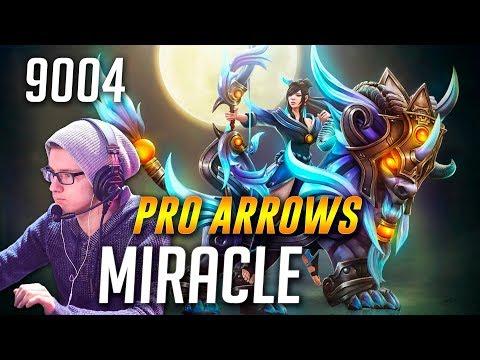 Miracle Mirana [PRO ARROWS] | 9004 MMR Dota 2
