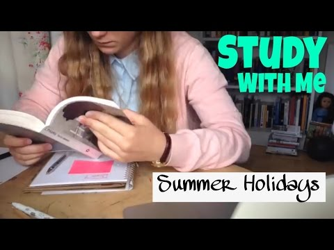 A Day Studying with Me || Summer Holiday Edition