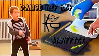( IL A TROP DE FLOW !!! ) Stage Keep In Dance   Graffiti X Hip Hop Danse