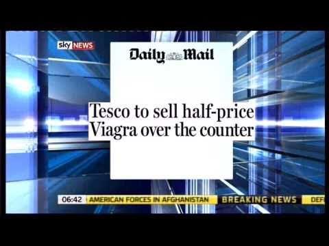 Tesco Supermarket to sell Viagra at half price