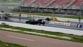 1968 Pontiac Firebird 9 second pass